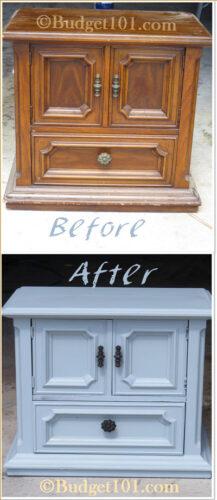 chalk paint nightstands