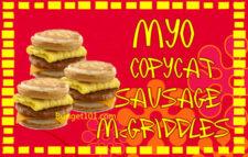 copycat mcdonalds sausage mcgriddle