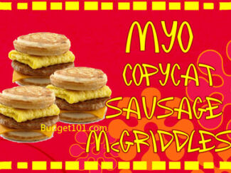 copycat mcdonalds sausage mcgriddle