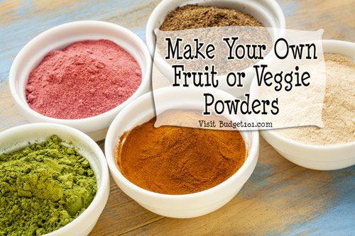 fruit powders