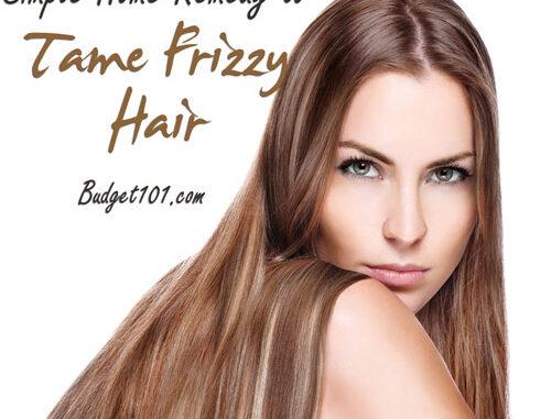 frizzy hair remedy