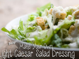 light caesar salad dressing
