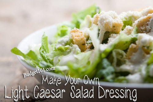 light caesar salad dressing