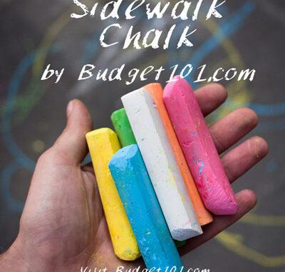 neon sidewalk chalk