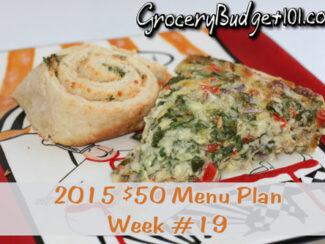 2015 50 budget menu plan week 19