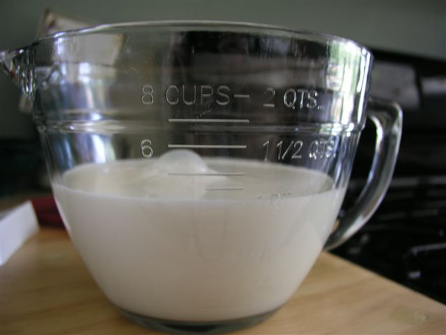 How to Make Your Own Yogurt Step 1