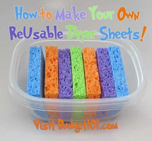 myo reusable dryer sheets