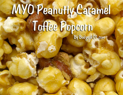 peanutty caramel toffee popcorn