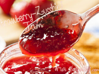 strawberry zucchini jam