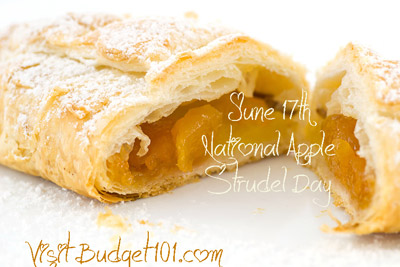 June 17th National Apple Strudel Day