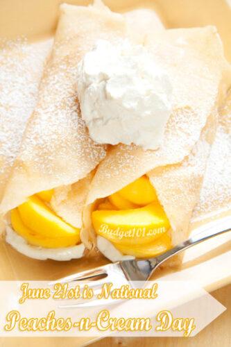 june 21st peaches cream day