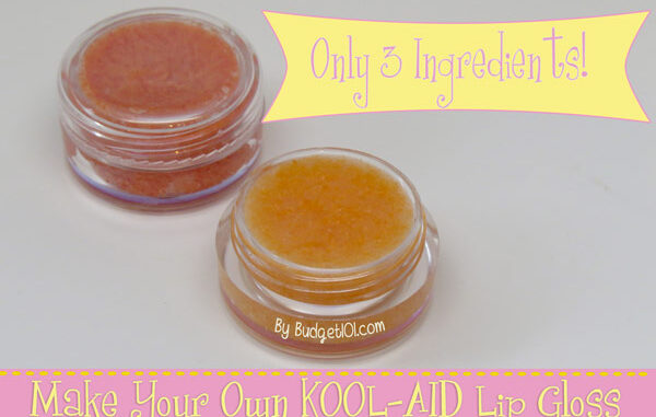 Kool-Aid Lip Gloss | Homemade Cosmetics