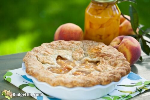 homemade peach pie filling budget101