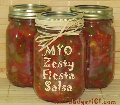 make your own fiesta salsa