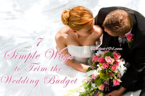 tips for a cheap wedding