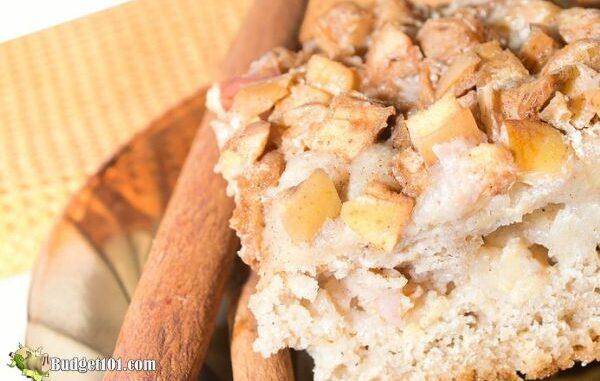apple coffee cake mix recipe by budget101.com