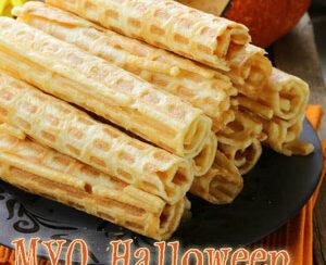 halloween wafer rolls