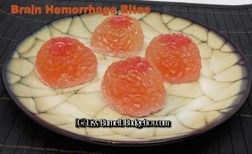 brain hemorrhage bites