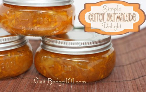 carrot marmalade delight