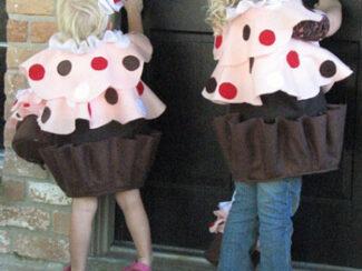cupcake with sprinkles costume idea