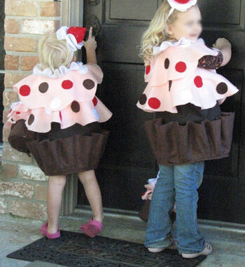 cupcake with sprinkles costume idea