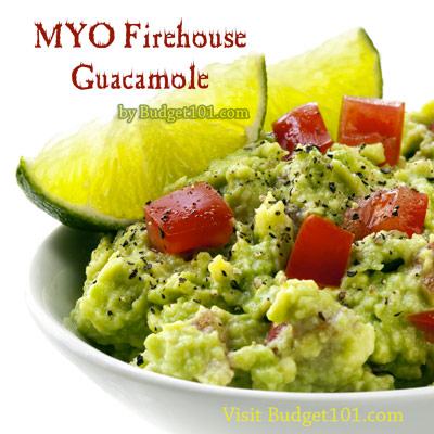 Homemade Firehouse Guacamole Recipe