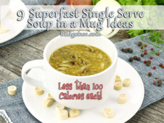 make your own cup of soup