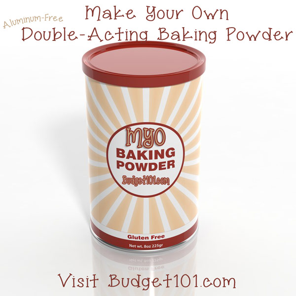 myo double acting baking powder