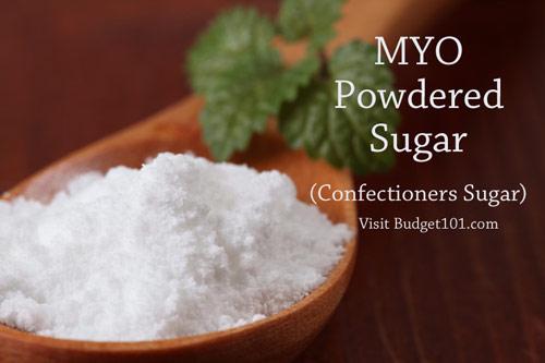 myo powdered sugar