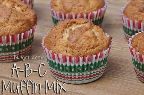 a b c muffin base mix