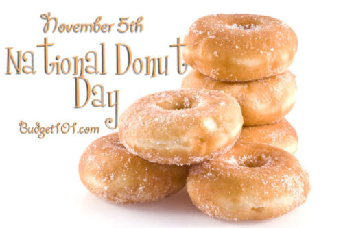 november 5 national donut day