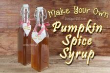 pumpkin spice syrup