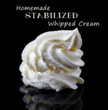 stablized whipped cream