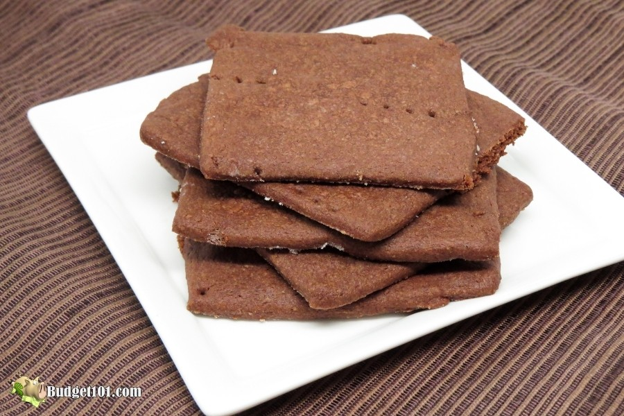 chocolate graham crackers by budget101