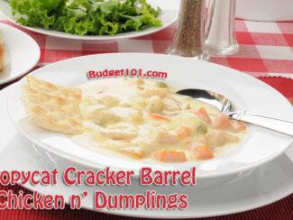 copycat cracker barrel chicken dumplings recipe