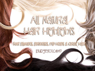 homemade hair highlights