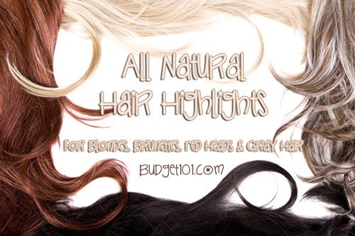 homemade hair highlights
