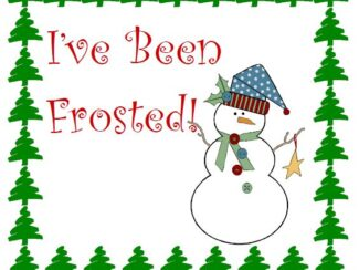 youve been frosted