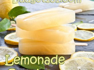 Refreshing Lemonade Popsicles