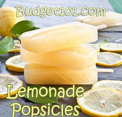 Refreshing Lemonade Popsicles