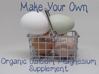 myo organic calcium magnesium supplement
