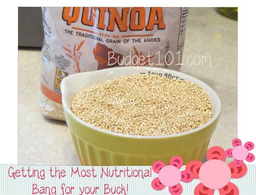 quinoa big bang for the buck