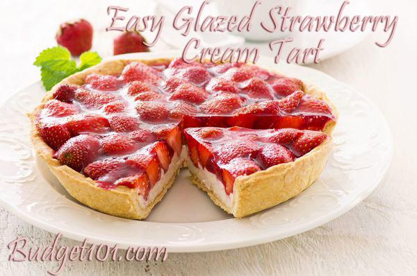 easy-glazed-strawberry-cream-tart