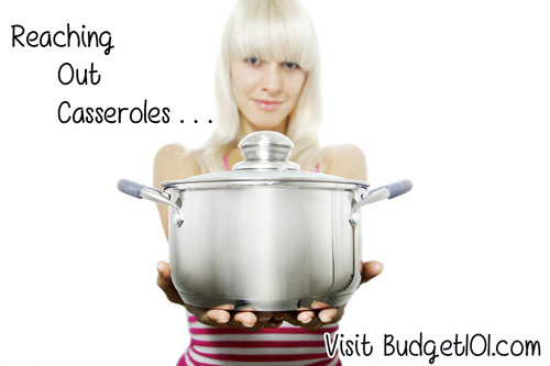reaching out casseroles