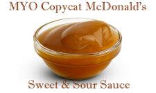 mcdonalds sweet and sour sauce recipe