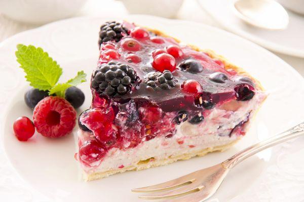 ricotta fruit tart