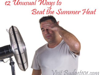 12 unusual ways to beat the heat