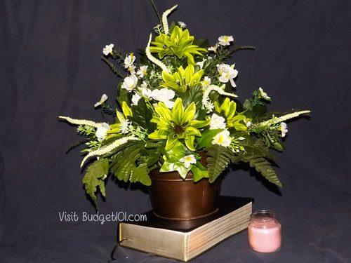 silk flower arrangements creation and care