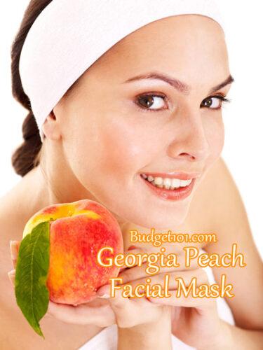 georgia peach mask