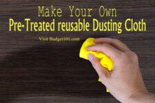 pre treated dust cloth
